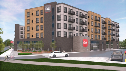 Exclusive: Supervalu opening new urban-format Cub in Southeast Minneapolis development Image