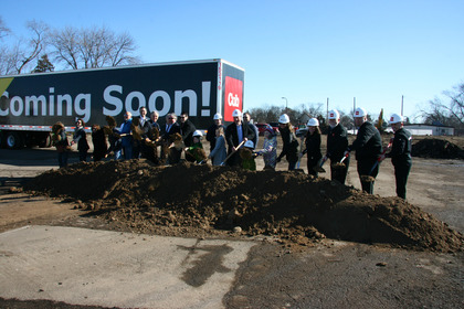 Oppidan Breaks Ground on Mixed-Use Development at 46th and Hiawatha Includes grocery store, retail a Image