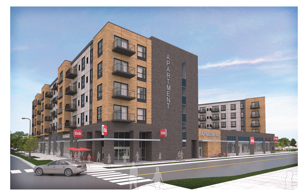 Oppidan unveils new details for 46th and Hiawatha mixed-use development Image