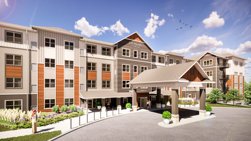 Photo for News Article: Oppidan Begins Construction on Grand Rapids Senior Living Community