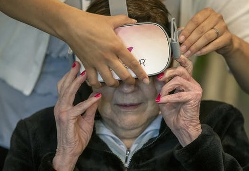 Photo for News Article: Virtual reality lets seniors travel without leaving home
