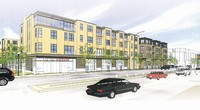 Oppidan Investment Co. now plans to build a five-story 180-unit apartment complex with a Fresh Thyme Farmers Market on the ground floor at 4900 Excelsior Blvd. in St. Louis Park, the former site of a